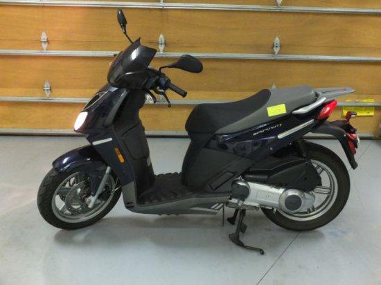 2008 Aprilia Sport City 250IE Moped - 1,908 Miles!  Like New!, VIN:ZD4VBC00X8S000433
