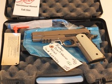 KIMBER DESERT WARRIOR 45 ACP WITH BOX & 2 MAGS S/N