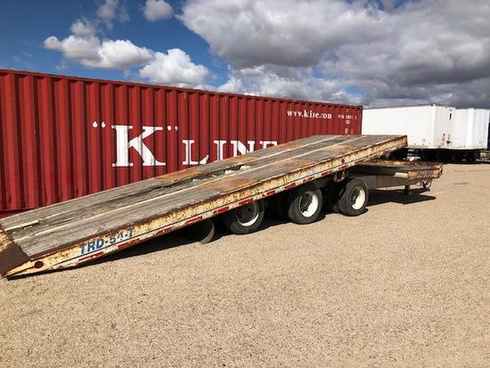 2007 TRAILMAX TRD 54-T TRAILER - TRI AXLE TILT BED (DUMP TRUCK), VIN:5UCPT37327A000643