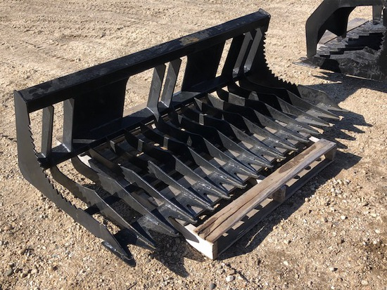 SKID STEER ROCK BUCKET - NEW