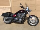 2008 VICTORY HAMMER MOTORCYCLE , VIN:5VPHB26D283002024