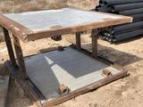 CERDA TRENCH BOX 6' x 6' SN:C140354 MODEL CAP-SAV-0606 W/22
