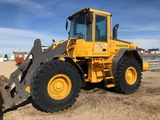 2005 VOLVO L70E WHEEL LOADER - FORK ATTACHMENT INCLUDED, S/N:L70EV61057 , HOUR METER READS: 5,671