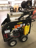 LANDA STEAM CLEANER/PRESSURE WASHER - LIKE NEW, MDL#MHC4-35324E - INCLUDES 5 GAL. OF CLEANER