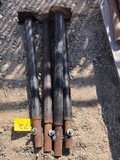 (4) TRENCH BOX LEGS/EXTENDERS