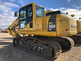 2013 KOMATSU PC 160 LC-8, HOUR METER READS: 4,247, HOE PACK NOT INCLUDED