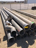 (11) 30' GATED PIPE, PLUS ELBOWS/PARTS - ROUGH
