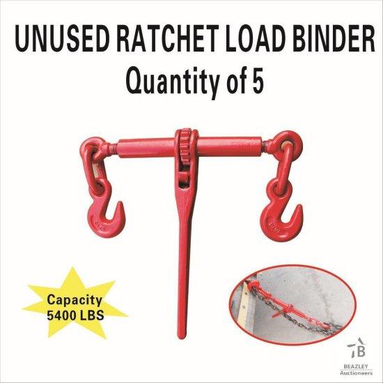 Unused 5 PC Ratchet Load Binder [Yard 1: Anna, TX]