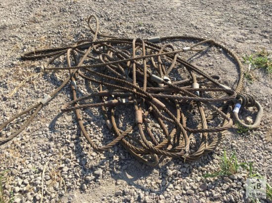 Qty of Wire Rope Slings [Yard 1: Anna, TX]