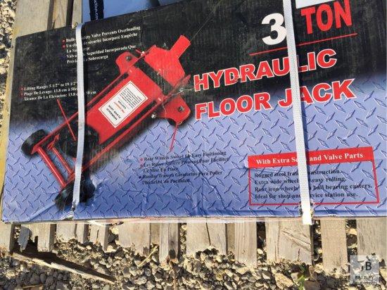 Unused 3 Ton Hydraulic Floor Jack [Yard 1: Anna, TX]