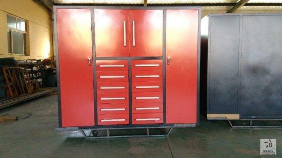 Unused 80'' Heavy Duty Multi Drawer Tool Cabinet [Yard 1: Odessa, TX]
