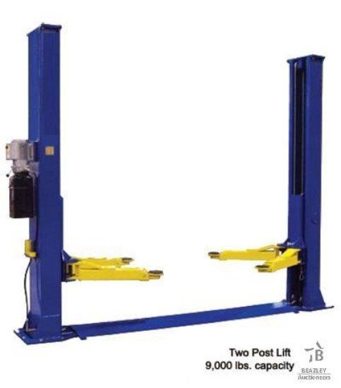 Unused 8800 LB Heavy Duty Two Post Auto Lift (BoxA&B) [Yard 1: Odessa, TX]