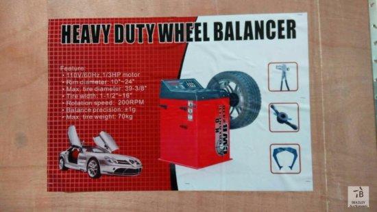 Unused Heavy Duty Wheel Balancer [Yard 1: Odessa, TX]