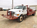 2008 Ford F650XL S/A Roustabout Truck 4x2 [Yard 2: Snyder, TX]
