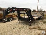 2007 Load Max T/A Gooseneck Equipment Trailer [Yard 2: Snyder, TX]