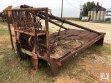 8ft. W x 13ft. 6in. L Winch Truck Steel Bed [Yard 2: Snyder, TX]