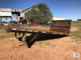 8ft. 4in. W x 16ft. L Steel Dump Bed [Yard 2: Snyder, TX]