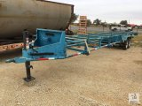 ShopMade T/A Bumper Pull Pipe Trailer [Yard 2: Snyder, TX]