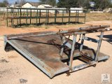 Leland Roustabout Truck Bed c/w Gin Poles [Yard 1: Odessa, TX]