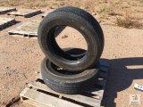 (2) Goodyear 275/ 70R22.5 Tires [Yard 1: Odessa, TX]