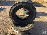 (2) Unused Roadmaster RM230 HH 16 Ply Steel Radial 12R24.5 Tires [Yard 1: Odessa, TX]