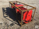 Unused 80in. 3 PTO Heavy Duty Rotary Tiller