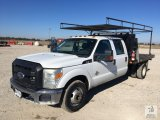 2011 Ford F350 Crewcab Dually Flatbed Truck