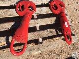 (1) Neilson (1) Trico, 25-T Rod Hook [Yard 1: Odessa]