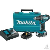 Unused Makita LXFD01CW (LXFD01WSP1) 18v 1/2in. Drill Kit [Yard 1: Odessa]