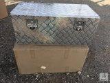 (2) Unused Aluminum Tool Boxes 37X17X15 [Yard 1: Odessa]