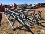 (3) 42in. H x 28ft. L Triangle Pipe Racks [Yard 1: Odessa]