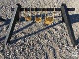 Unused 3/8in. AR500 Gong Target [Yard 1: Odessa]