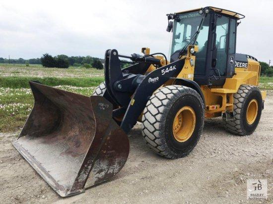 2015 John Deere 544K Wheel Loader