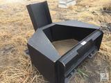 Unused 3/4 Cu Yd Skid Steer Concrete Placement Bucket
