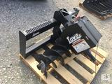 Unused Lowe Hyd Auger 750 c/w 12in. skid steer quick attach