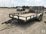 PJ 16ft Flatbed Trailer