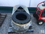 (4) Mile Pro 10-16.5 10 Ply Skid Steer Tires