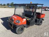 2013 Kubota RTV1140CPX 4X4 Utility Cart