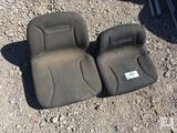 (2) Cab Cadet Tractor/Lawn Mower Seats