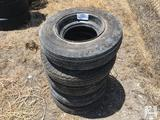 (5) 8-14.5 Mobile Wheels & Tires