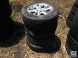 (4) 215/65R16 Wheels & Tires