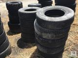 (17) Various Size Tires