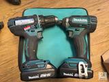Unused Makita LCT200W 18V 2pc Combo Kit