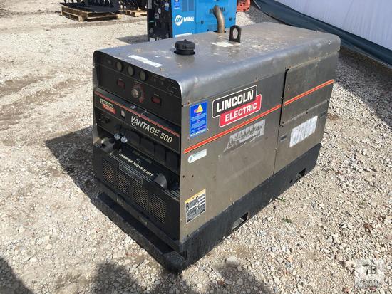 2008 Lincoln Vantage 500 DC Welding Generator