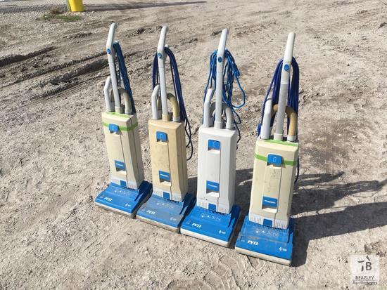 Lot of (4) Windsor Prochem Vacuum Cleaners