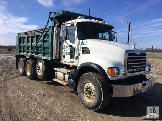 2005 Mack CV713 Tri/A Dump Truck