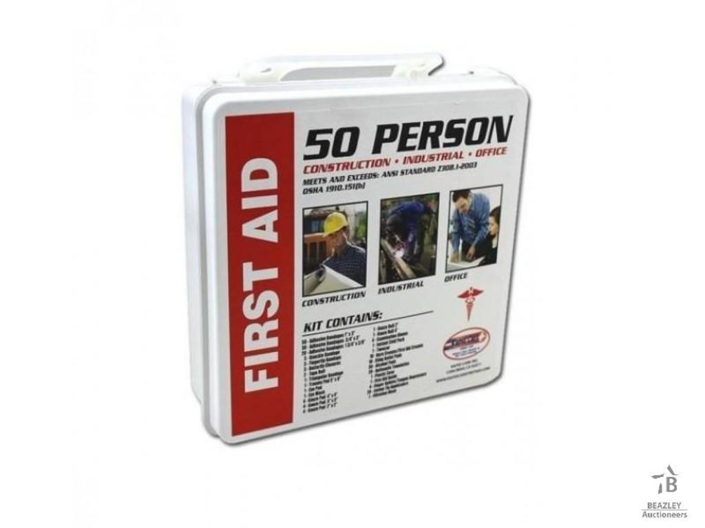 Unused 50 Person First Aid Kit