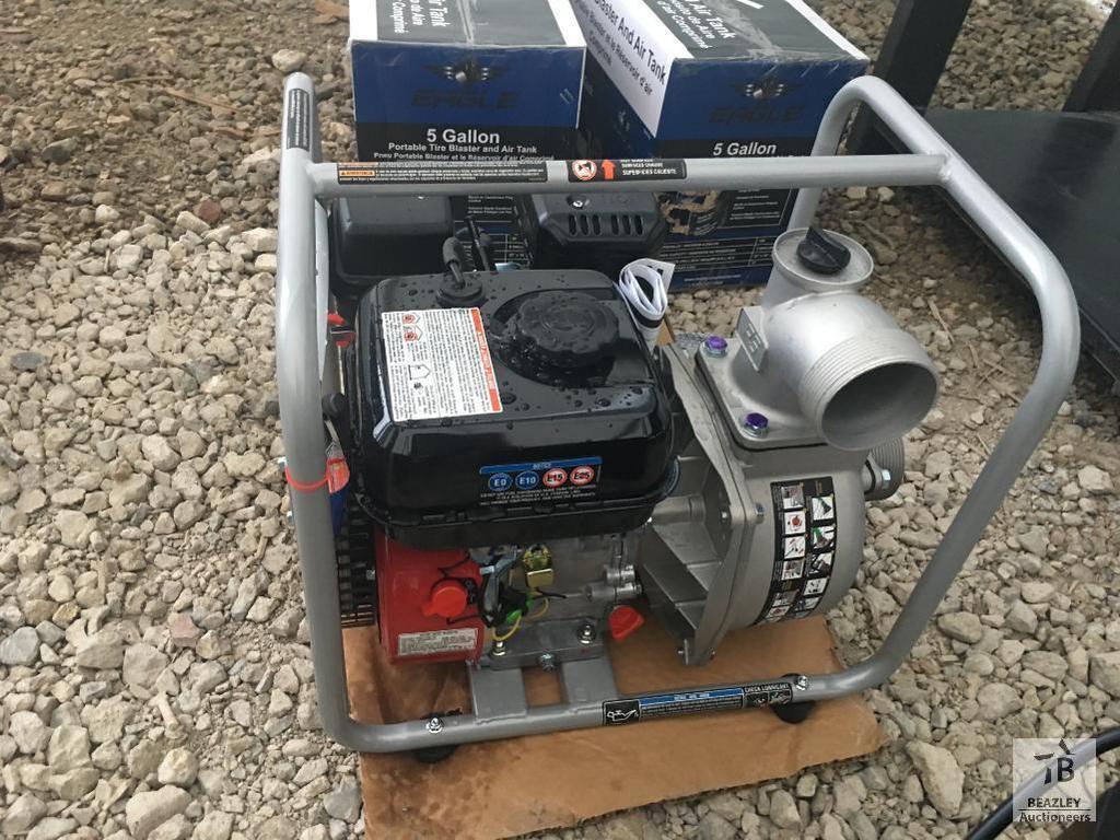 """Unused HomeLite 3"""" Trash Pump"""