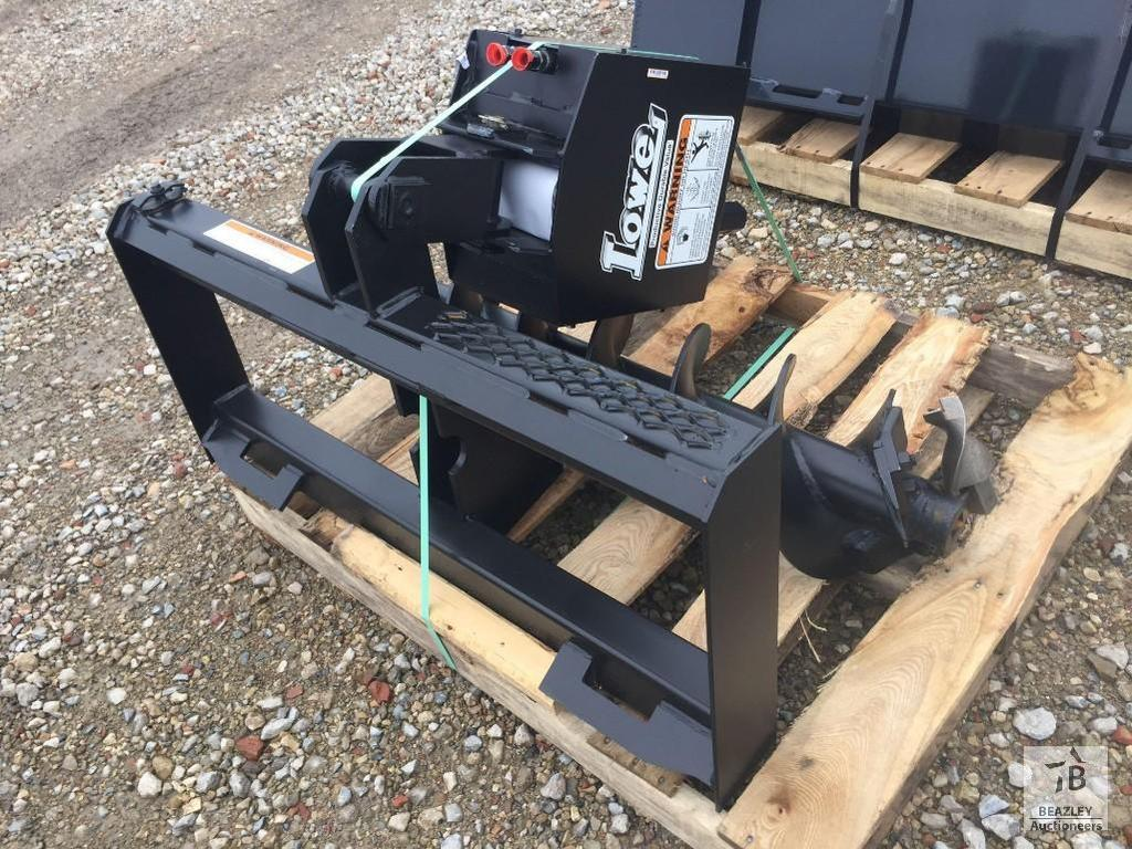 Unused Lowe 750 Hydraulic Auger