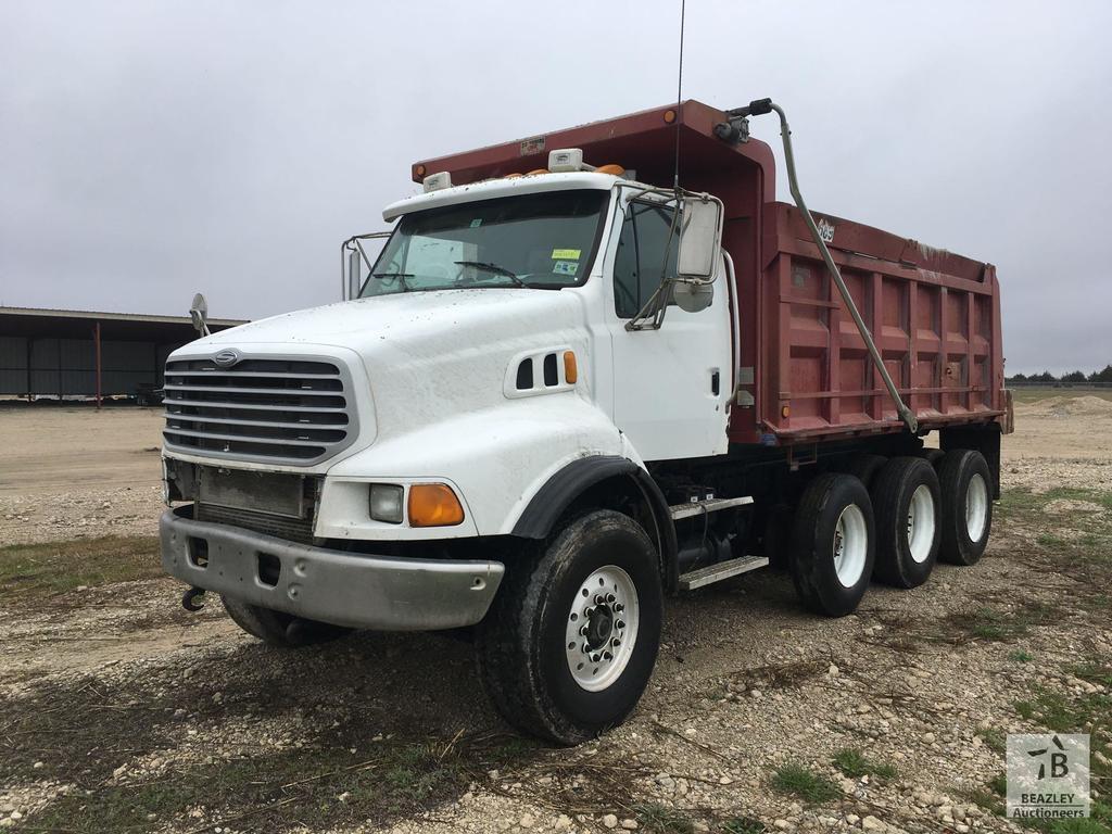 2007 Sterling LT9500 Tri/A Dump Truck